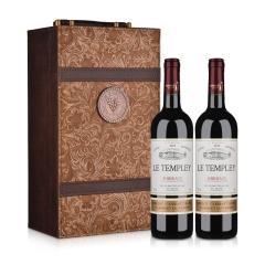 法国杜隆波尔多坦普雷古堡2012AOC 750ml*2礼盒装