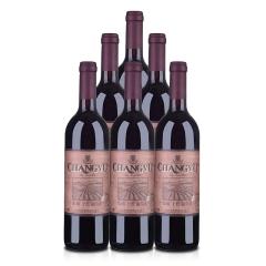 中国张裕系列干红葡萄酒750ml *6