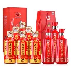 52°茅台集团贵州原浆酒 10·陈酿 (2013年)500ml(6瓶装)+38°泸州老窖原浆500ml(3瓶装)