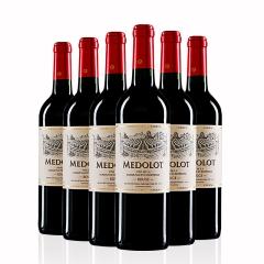 法国马得乐干红葡萄酒750ml*6瓶