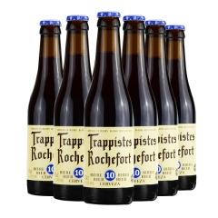 比利时进口罗斯福10号啤酒修道院精酿黑啤酒330ml*6