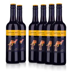 黄尾袋鼠西拉红葡萄酒(6瓶装)