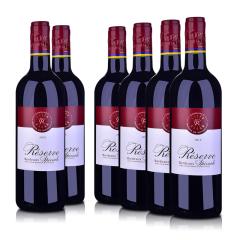 法国拉菲珍藏波尔多红葡萄酒750ml*6