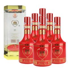 52°五粮液股份公司喜酒陈酿500ml(6瓶装)